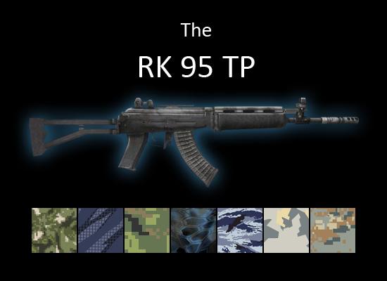 RK 95 assault rifle for multiplayer servers