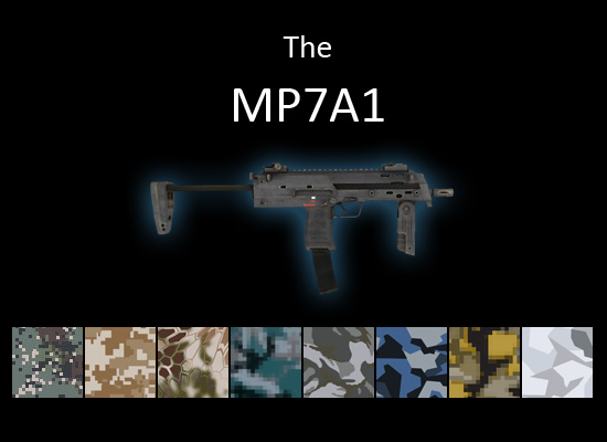 MP7A1 smg for multiplayer servers