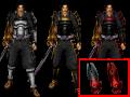 Armor Pack & Dark Oni Gauntlet