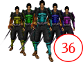 36 Color Variants for All Armors