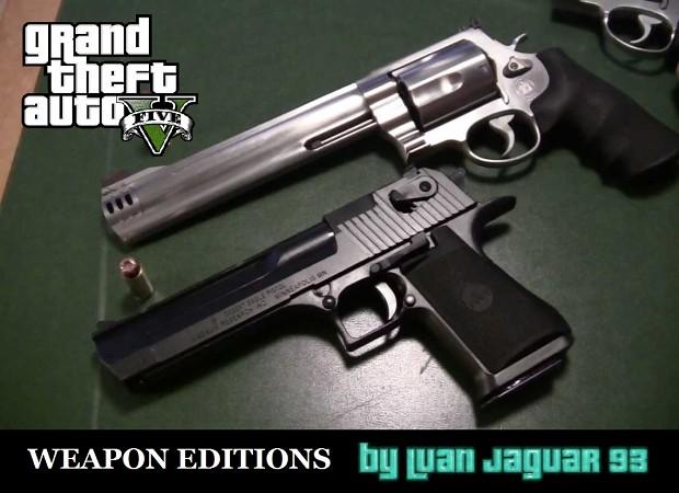 GTA V Weapon Tweak & Edition pack by LuanJaguarKing93