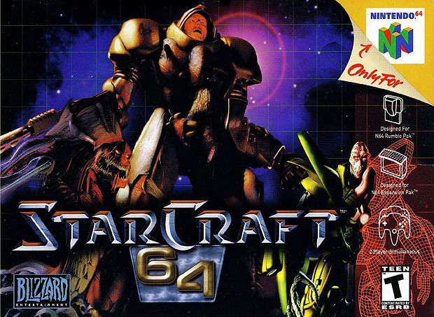 starcraft 64 exclusive tutorial levels