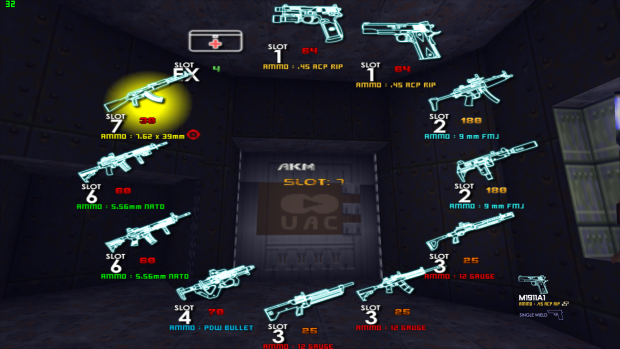 (Prototype) Weapon Wheel for CALL OF DOOM:BLACK WARFARE 0.5 Beta