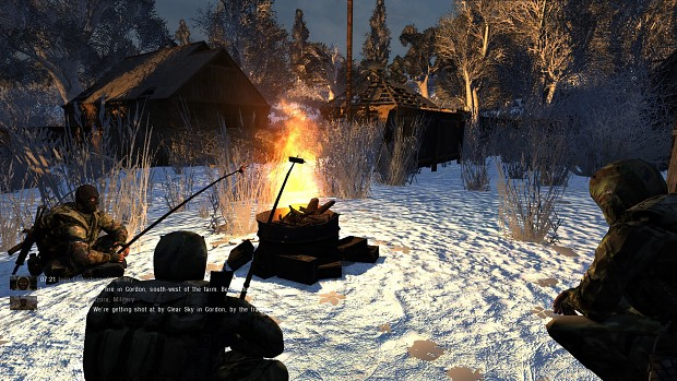 S.T.A.L.K.E.R.: Anomaly Photoreal Winter Mod