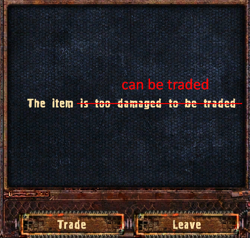 Traders buy crap durability (v1.4007)