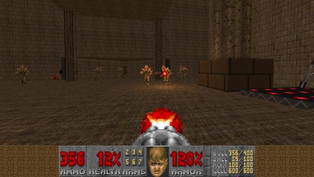 GBA Doom II - Weapons Wad