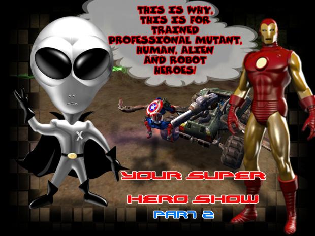 Geo Super Hero Show Part 2 - 200 Hero Voice Sound Packs