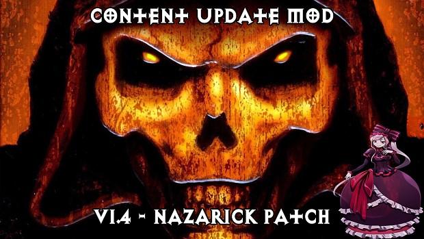 Content Update Mod v1.4 - Nazarick Patch