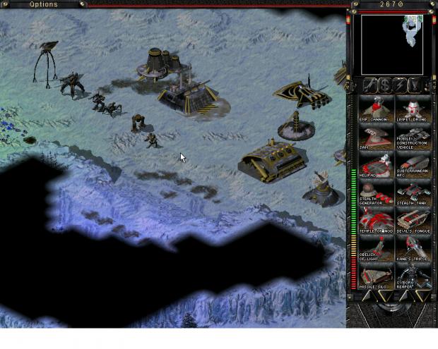 Tiberian Sun War for Earth first release