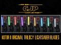 CJP KOTOR II Original Trilogy Lightsaber Blades (Animated)