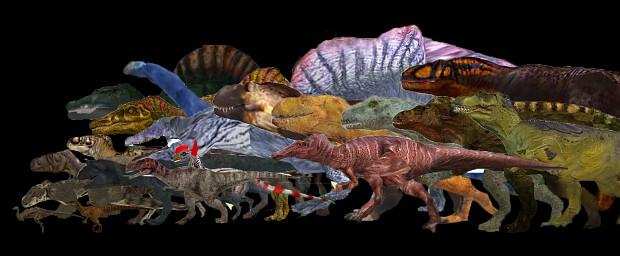Sauropod Behaviours DLC