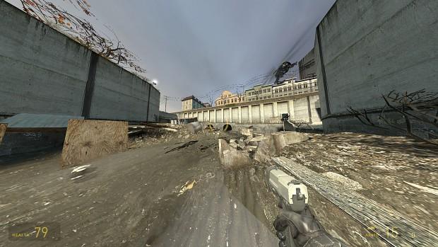 Half-Life 2 Unlocked FOV