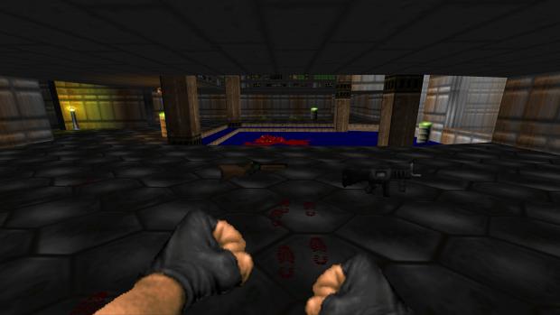SSG and Assault Shotgun in Ultimate Doom