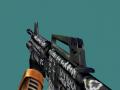 Skin for 9mmar in HL based on M4 Flashback from CS:GO