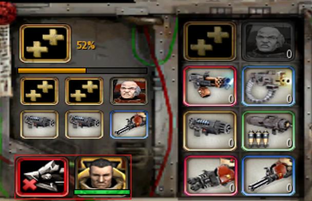 Extra Weapon Slots (Dark Crusade)