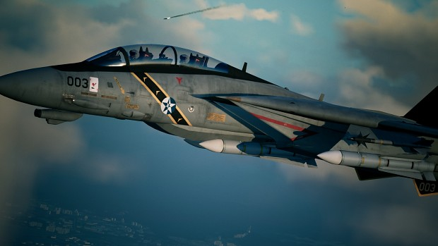 F-14D Tomcat -Heartbreak One-