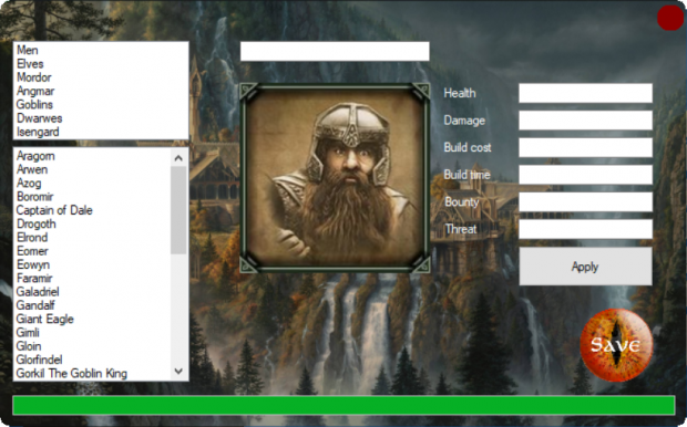 Battle for Middle-Earth 2 Hero Editor