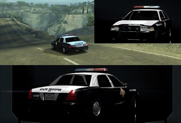 Texas Highway Patrol Ford Crown Victoria