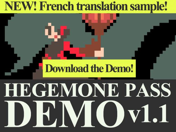 Hegemone Pass - Demo v1.1 (Windows)