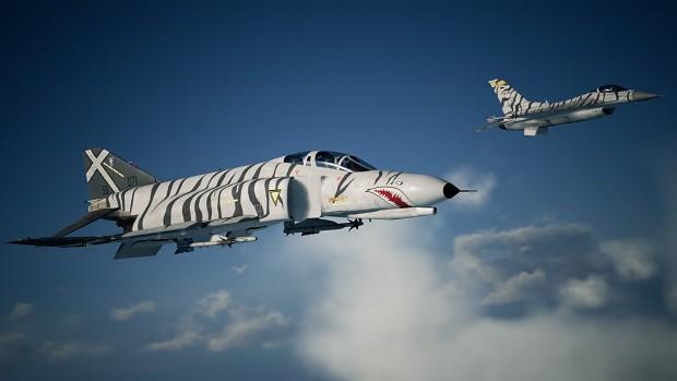 F-4E Phantom -Silber-