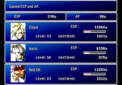 Remako HD Graphics Mod v1.0 - Menu Avatars (menu)