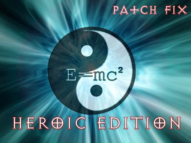 E=mc2 Heroic Edition patch fix.