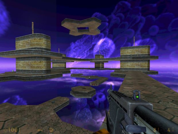 Dm_SpacePlatform for Half-Life Deathmatch