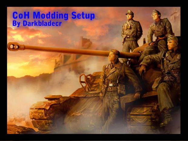 Company of Heroes Modding Setup