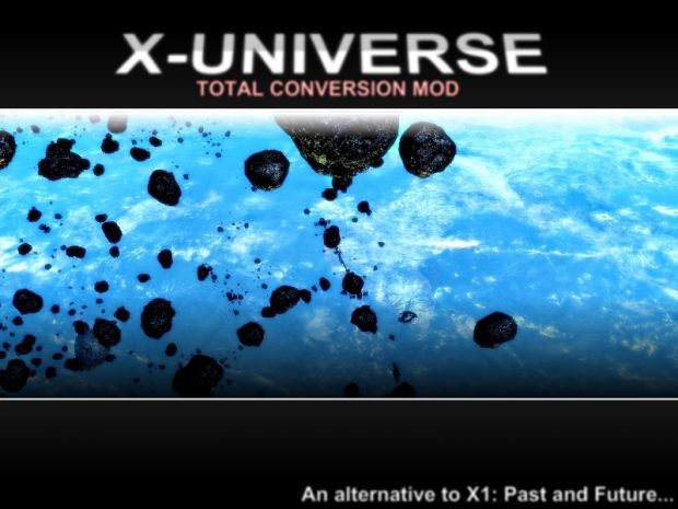 X-UNIVERSE v1.0 Beta (old installer)
