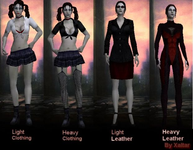 Female Toreador reskin Jeanette model pack