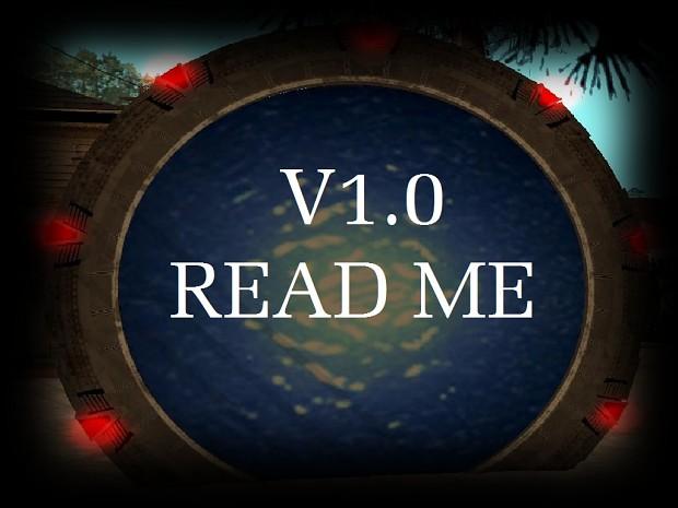 StarGate Mod v1.0 ReadMe