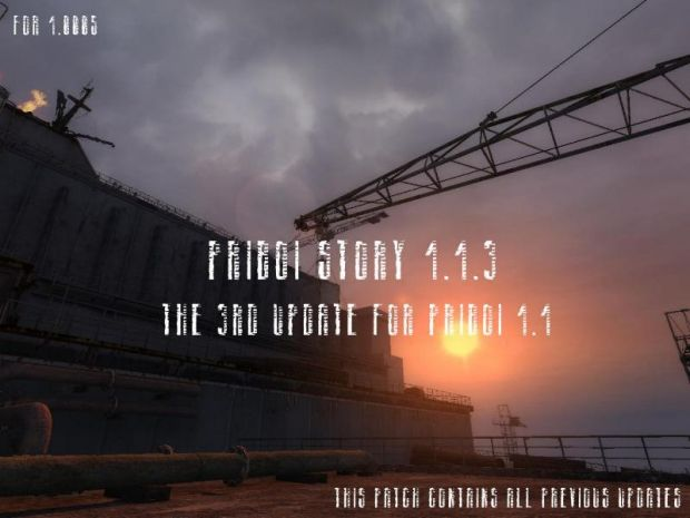 Priboi Story 1.1.3 Patch for 1.0005