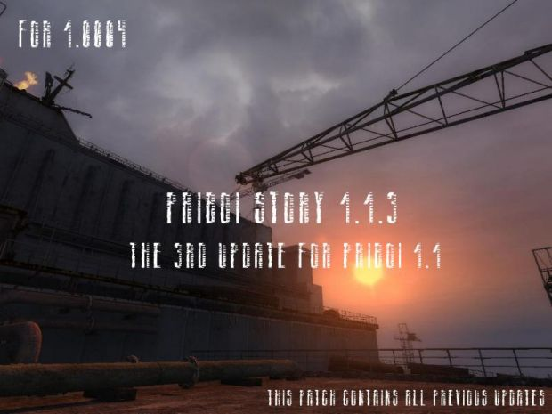 Priboi Story 1.1.3 Patch for 1.0004