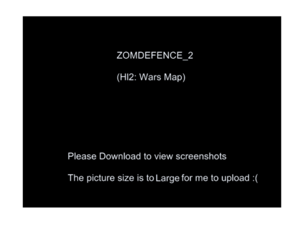 Hl2 Wars- ZomDefence_2 Map *V0.5 Compatible Only!*