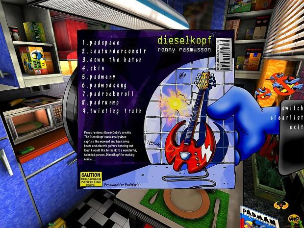 Music pack #1 by Dieselkopf (PadMod/Q3A)