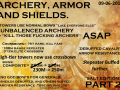 Part 2, Archery, Armor, Shields. [Outdated]  ^