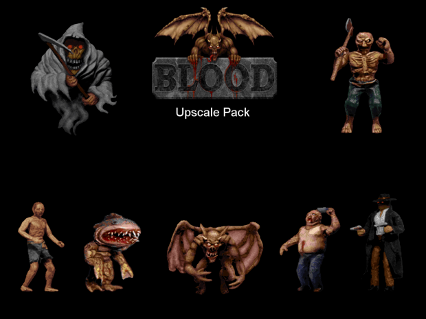 Blood Upscale Pack 2.05