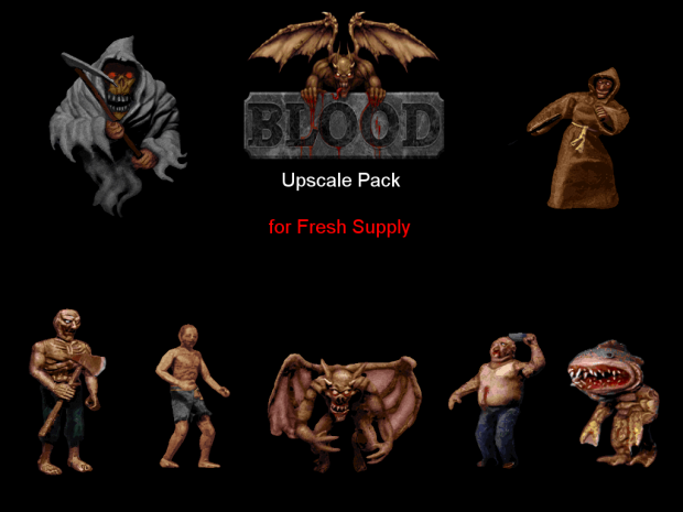 Blood Upscale Pack (Fresh Supply compatible) OUTDATED