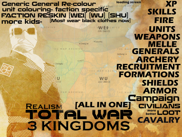 Invis All In One [Totalwar 3kingdoms Realism] *Updated 20th july*