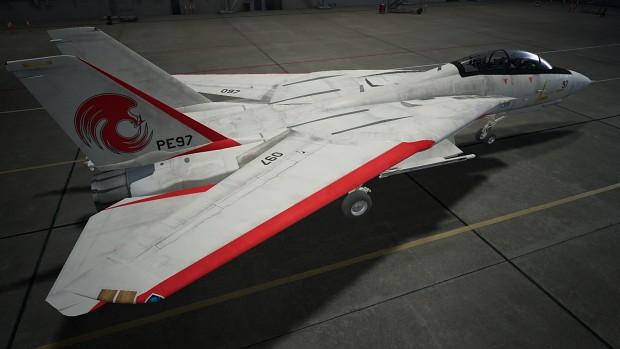 F-14D STFS PE097 Skin