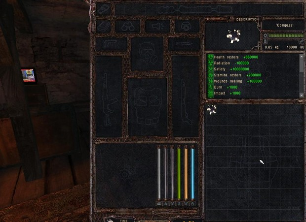 Invincibility Artifact for Lost Alpha 1.4007 Developers Cut