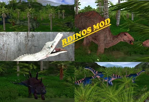 Random Dinos Mod Version 0.2