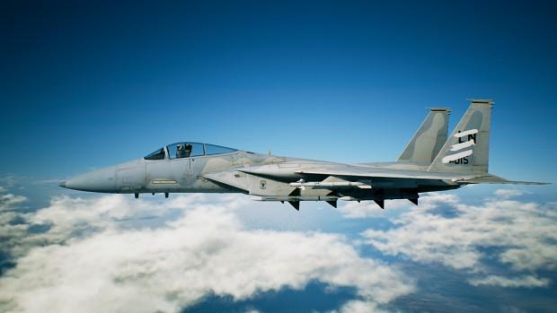 USAF F-15C/J Spare Stripes