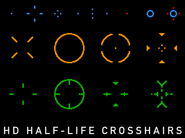 HD Half-Life Crosshairs