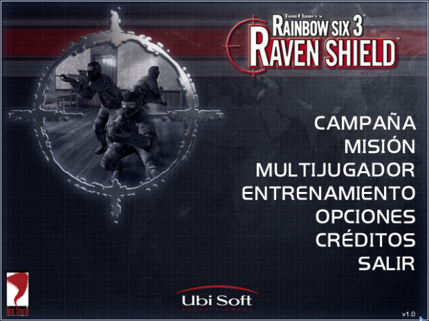 Spanish lang pack for Rainbow Six 3: Raven Shield (text+sound)