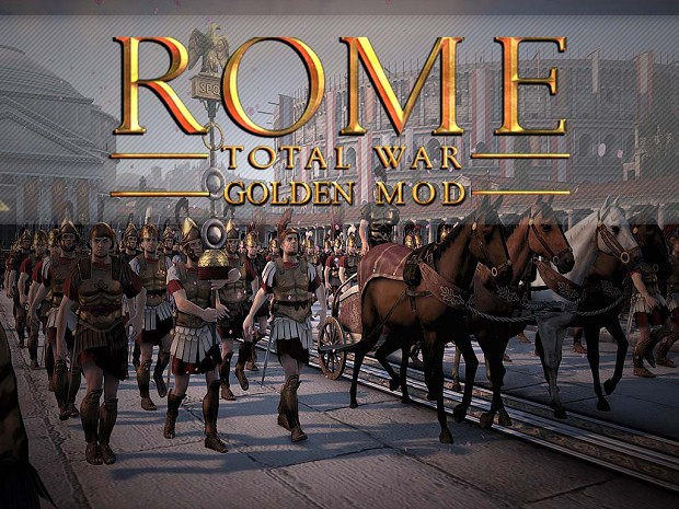 Rome Total War Golden Mod v1.3