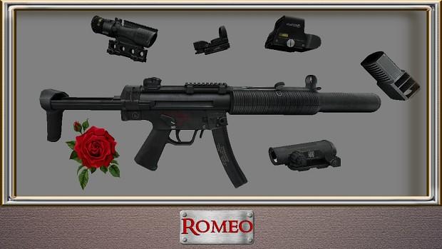 MP5-SD WAR-custom - Black Veil