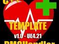 DMGHandler: Template UE4.21 v1.0 (Plugin Needed)
