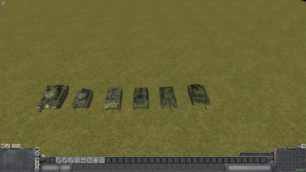 Tanks from MoW Vietnam