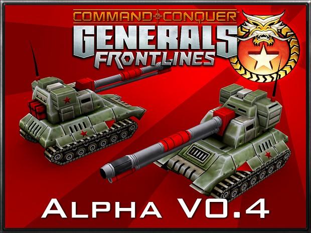 Generals Frontlines Alpha v0.4